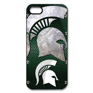 NCAA Michigan State Spartans Iphone 5 5s Case Cover University Team Logo Snap On Iphone 5 5s Cases Cell Phones & Accessories