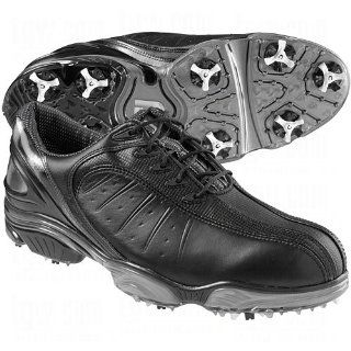FootJoy FJ Sport Golf Shoes 53288 Black/Silver Wide 7 Sports & Outdoors