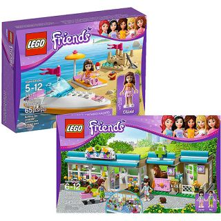 LEGO Friends Heartlake Vet & Accessory Value Bundle Building Sets & Blocks