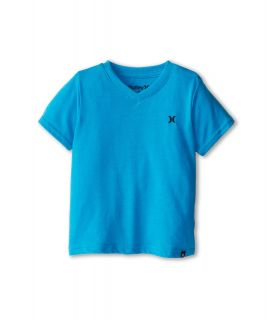 Hurley Kids Icon Premium Heather Tee Boys T Shirt (Blue)