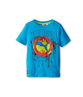 Puma Kids Cat Drip Tee (Little Kid)