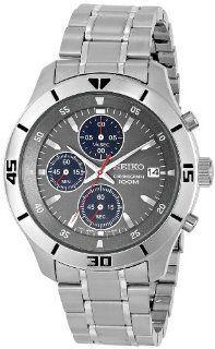 Seiko Men's SKS407 Stainless Steel Watch Watches