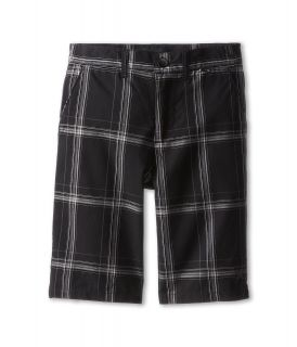 Hurley Kids Puerto Rico Plaid Short Boys Shorts (Black)