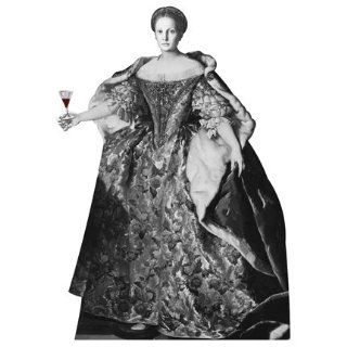 WGH58066 Countess Elizabeth Bathory Historic Vinyl Wall Graphic Decal Sticker Historical Woman Women   Wall Decor Stickers