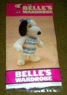 "Peanuts Snoopy Belle Outfit for 15"" Plush Doll   Bikini, Swim Suit by Determined Toys & Games"