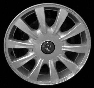 02 03 HYUNDAI SONATA ALLOY WHEEL RIM 16 INCH, Diameter 16, Width 6 (10 SPOKE), BRIGHT SILVER, 1 Piece Only, Remanufactured (2002 02 2003 03) ALY70695U20 Automotive