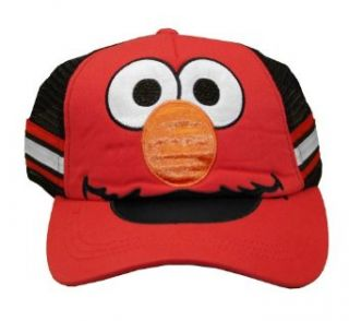 Sesame Street Elmo Youth Kids Adjustable Trucker Hat Cap Clothing