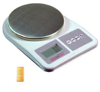 Digiweigh Dwp1001 Digital Scale 1000 X 0.1g Weigh Gram Ounce Oz Grain Gn Carat, Badge, Nugget, Seed Bead, Stars, Crystal, Ribbon, Wire Cross, Fused Glass, Lariat, Charm, Cord, Coil, Stamped, Bracelet, Leather, Organizer, Walnut Wood, Trinket, Beveled Jewe