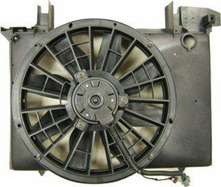 QP V077S a Volvo S70 S 70 Replacement AC A/C Condenser Radiator Cooling Fan/Shroud Assembly Automotive