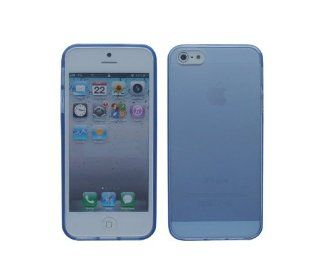 iShoppingdeals   for Apple iPhone 5 5S TPU Rubberized Cover Case Skin, Blue Cell Phones & Accessories
