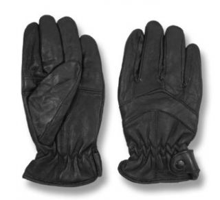 WeatherBeaters Womens Black Thinsulate Lined Genuine Leather Gloves   Large Cold Weather Gloves
