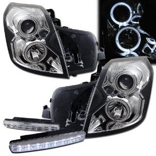 2006 Cadillac Cts Projector Headlights + 8 Led Fog Bumper Light Automotive