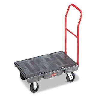 Rubbermaid Commercial FG443600BLA Heavy Duty Platform Truck, Medium, 1000 Pound Capacity