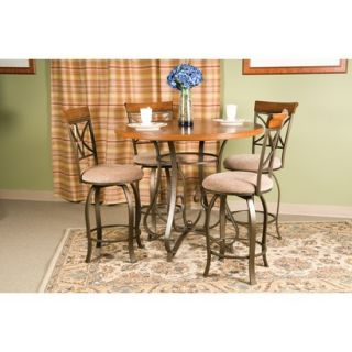 Powell Hamilton Counter Height Dining Table (Set