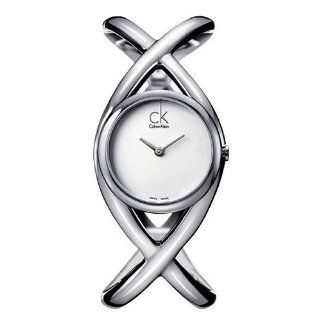 Calvin Klein K2L24120 Watch Enlace Ladies   Silver Dial Stainless Steel Case Quartz Movement at  Women's Watch store.