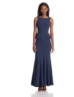 BCBGMAXAZRIA Women's Francesca Sleeveless Evening Dress with Godets