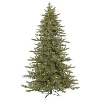 "Baldwin 7' 6"" Green Spruce Artificial Christmas Tree with 700 LED White Lights with Stand"