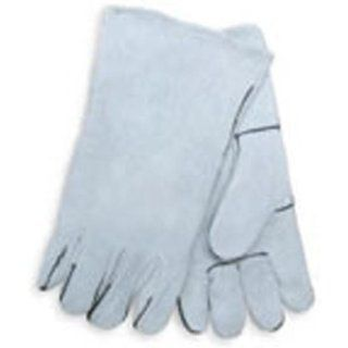 Mig Tig Arc Weld and Plasma Cutting Leather Welding Gloves 14 Inch Automotive