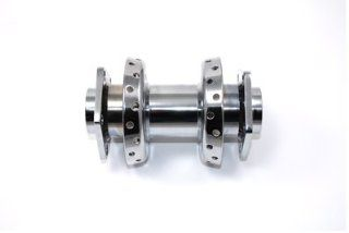 "Motorcycle Chrome Wheel Hub 3/4"" Bearings Automotive"