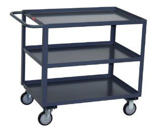 "Jamco Products Inc SC472 U5 GP Three Shelf Service Cart, 1200 Pound Capacity, 36"" x 72"""