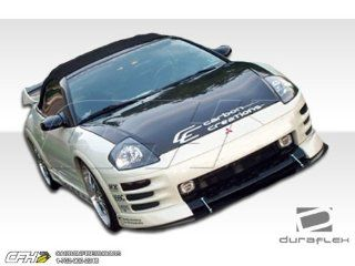 2000 2002 Mitsubishi Eclipse Duraflex Shine Flared Body Kit   8 Piece   Includes Shine Flared Front Lip Under Spoiler Air Dam (100124) Shine Flared Rear Lip Under Spoiler Air Dam (100125) Shine Flared Side Skirts Rocker Panels (100126) Shine Flared Fender