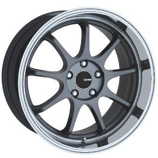17x8 Enkei Tenjin (Gunmetal w/ Machined Lip) Wheels/Rims 5x114.3 (478 780 6545GM) Automotive