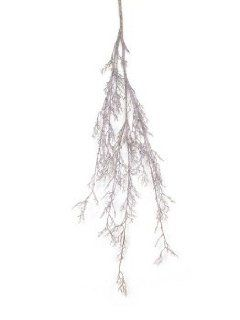 "Shop Pack of 6 Snow Drift Brown Iced Twig Christmas Sprays/Branches 60"" at the  Home D�cor Store"