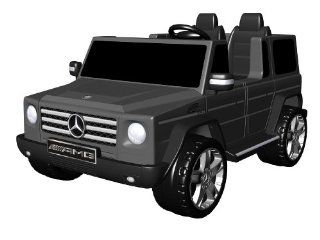 National Products 12V Black Mercedes Benz G Class Battery Operated Ride on Toys & Games