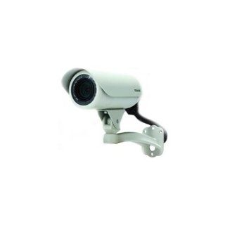 Toshiba IK WB70A IP/Network Camera, PoE, 640x480, 3.3 12mm Lens, IP66, Built in IR LEDs  Bullet Cameras  Camera & Photo