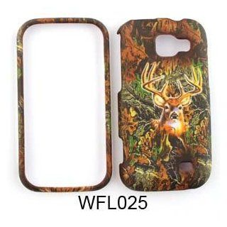 Samsung Transform M920 Camo/Camouflage Hunter Series, w/ Deer Hard Case/Cover/Faceplate/Snap On/Housing/Protector Cell Phones & Accessories