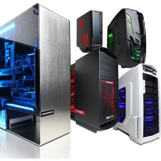 CYBERPOWER PC Build Your Own Gaming Desktop Bundle   Select Case, Processor, Memory, Hard Drive, and more Computers