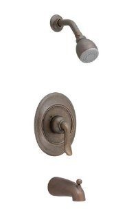 American Standard T508.502.224 Princeton Single Lever Handle Bath and Shower Valve Trim, Oil Rubbed Bronze   Faucet Trim Kits