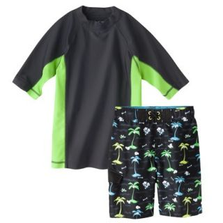 Cherokee® Boys Short Sleeve Rashguard and P