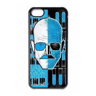 Custom Breaking Bad Cover Case for iPhone 5C W5C 1524 Cell Phones & Accessories
