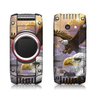 Eagle Design Protective Skin Decal Sticker for Casio G'zOne Ravine 2 C781 Cell Phone Cell Phones & Accessories