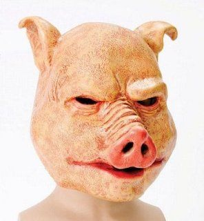 Horror Pig Scary Halloween Fancy Dress Mask Toys & Games