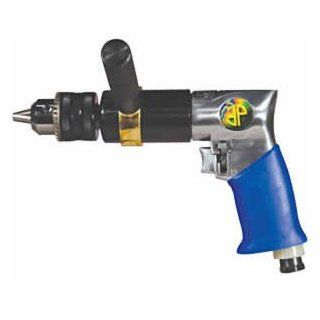 Astro Pneumatic 527C 1/2 Inch Extra Heavy Duty Reversible Air Drill   Power Pistol Grip Drills