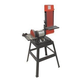 Direct Drive Belt/Disc Sander, 9 In   Power Combination Disc And Belt Sanders