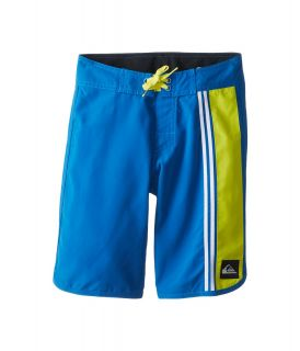 Quiksilver Kids OG Comp Stripe Boardshort Boys Swimwear (Blue)