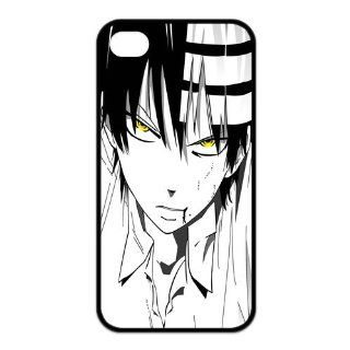 Mystic Zone Japanese Anime Death the Kid Case for iPhone 4/4S Cover Cartoon Fits Case KEK1656 Cell Phones & Accessories