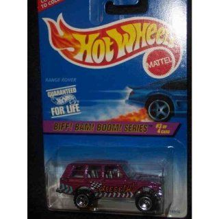 Hot Wheels Biff Bam Boom Series #544 RANGE ROVER 164 Scale Toys & Games