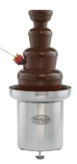 Nostalgia Electrics CFF552 Commercial Stainless Steel Chocolate Fondue Fountain Kitchen & Dining