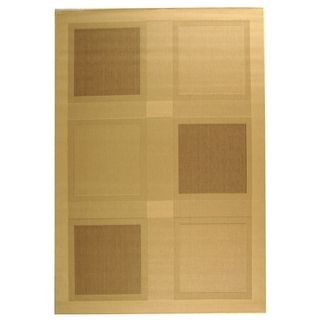 Safavieh Courtyard Indoor/ Outdoor Natural/ Brown Area Rug (9 X 12)