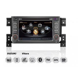 Suzuki GRAND VITARA OEM Digital Touch Screen Car Stereo 3D Navigation GPS DVD TV USB SD iPod Bluetooth Hands free Multimedia Player  In Dash Vehicle Gps Units