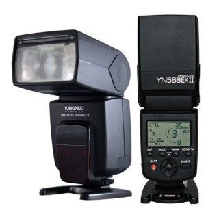 YONGNUO YN568 EX II TTL Flash Speedlite with High Speed Sync for Canon 1Dx, 1Ds series, 1D series, 5DIII, 5DII, 5D, 7D, 60D, 50D, 40D, 30D, 20D, 650D/T4i, 600D/T3i, 550D/T2i, 500D/T1i, 450D/Xsi, 400D/Xti, 350D, 1100D, 1000D  On Camera Shoe Mount Flashes