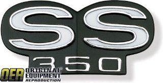 New Chevy Camaro Emblem   Grille, SS 350 67 68 Automotive