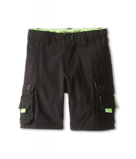 Request Kids Kayne Cargo Twill Shorts Boys Shorts (Black)