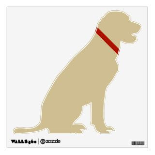 Yellow Labrador Retriever Wall Skins