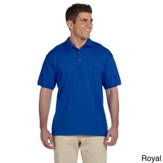 Gildan Gildan Mens Ultra Cotton Jersey Polo Shirt Blue Size XXL