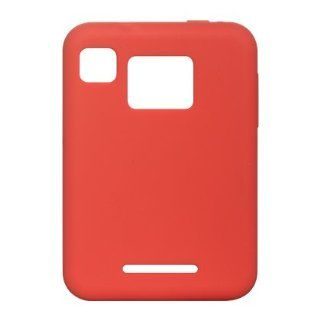 Premium Silicone Skin Case for Motorola Charm / Red [Electronics] Cell Phones & Accessories